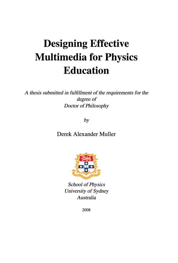 designing-effective-multimedia-for-physics-education