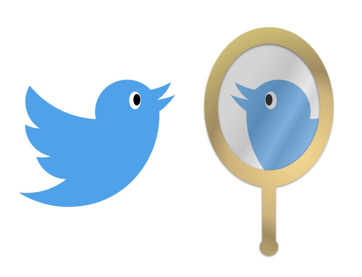 Twitter mirror